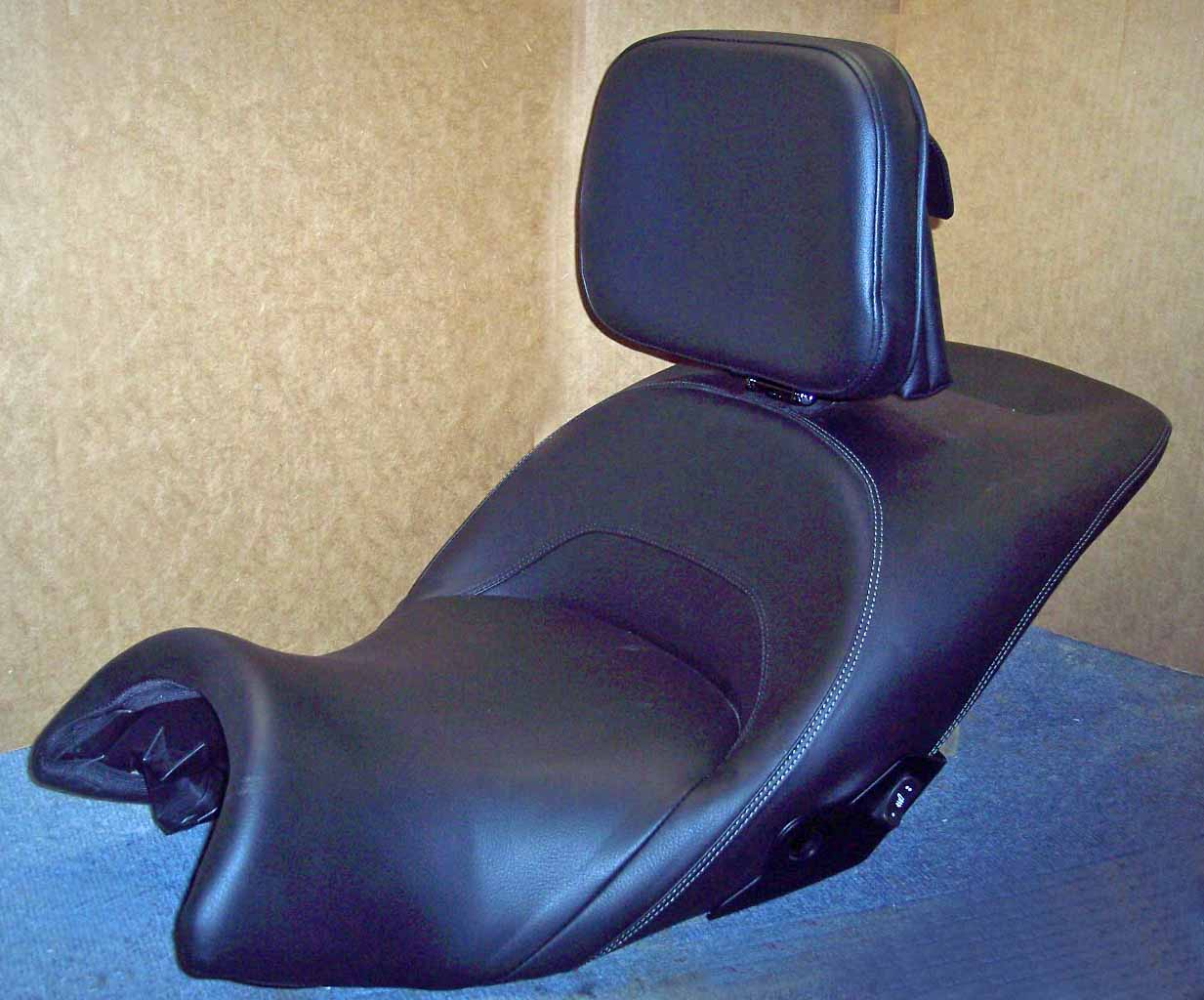 Utopia Products - Motorcycle Driver Backrest - Motorcycle Seat