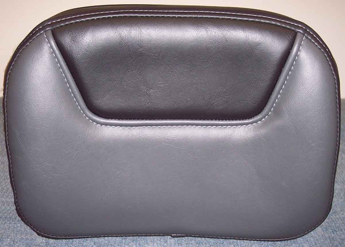 At checkout select your utopia driver backrest color