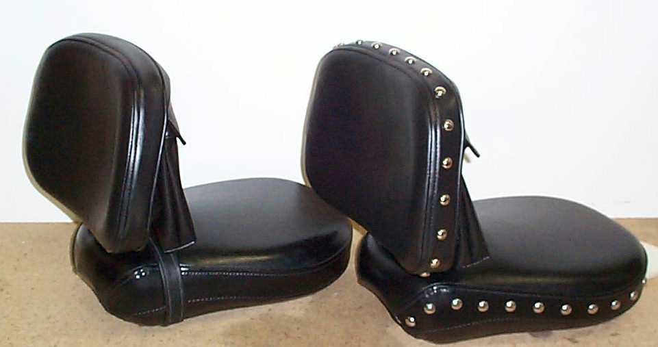 Yamaha V Star Drivers Seat With Back Rest